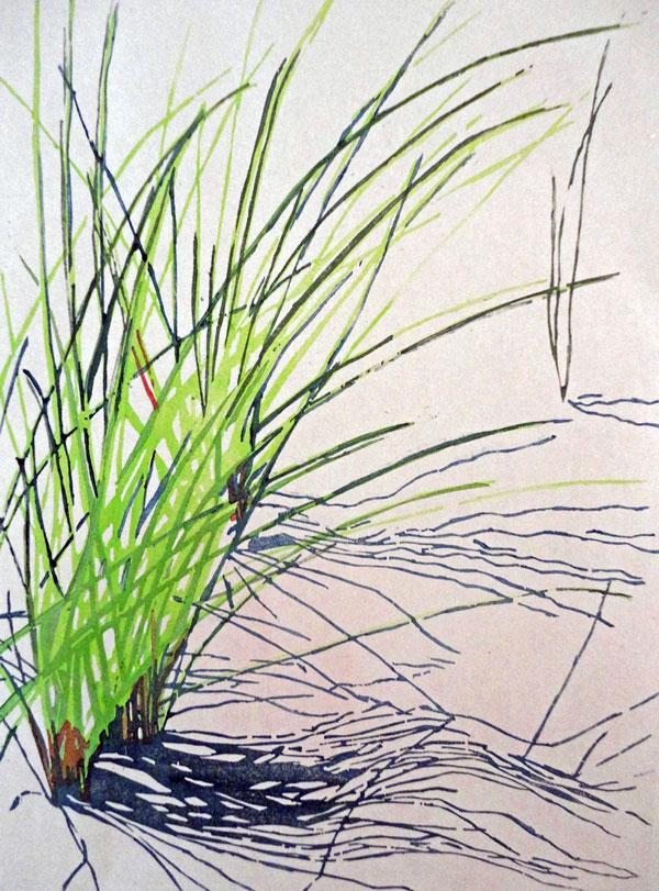 2015 Watercolor Printmaking Japanese Woodblock