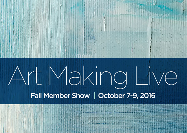 Fall for Art Exhibit: Art Making Live
