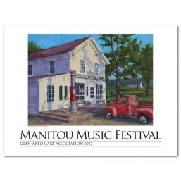 2017 Manitou Music Festival Poster