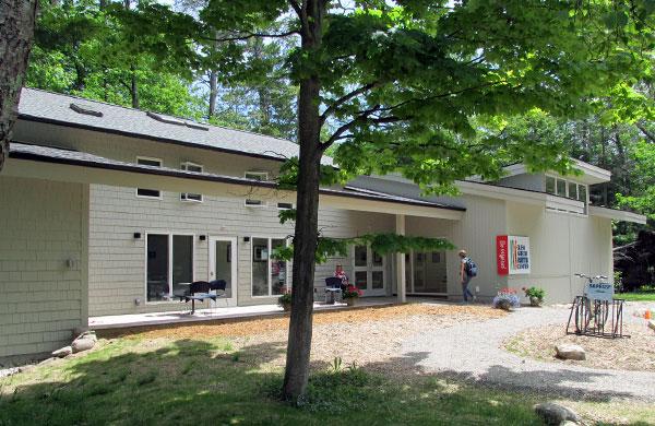 GAAC Building in Summer