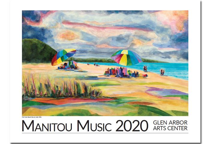2020 Manitou Music Poster
